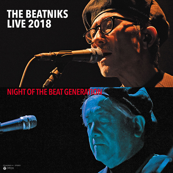 THE BEATNIKS – THE BEATNIKS Live 2018  NIGHT OF THE BEAT GENERATION