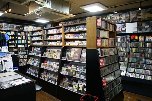ディスクユニオン新宿 プログレッシヴ・ロック館 (3F)