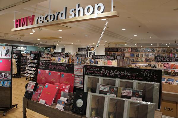 HMV record shop新宿ALTA