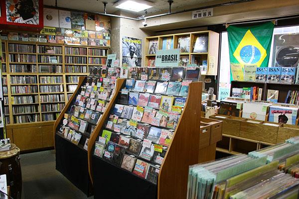ディスクユニオン新宿 ラテン・ブラジル館 (4F)