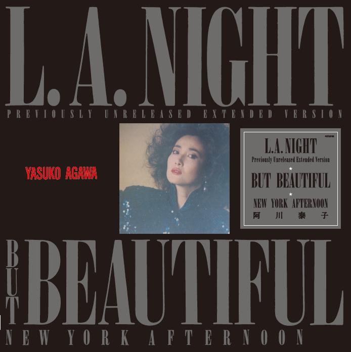阿川泰子 – L.A.NIGHT (クリアヴァイナル)