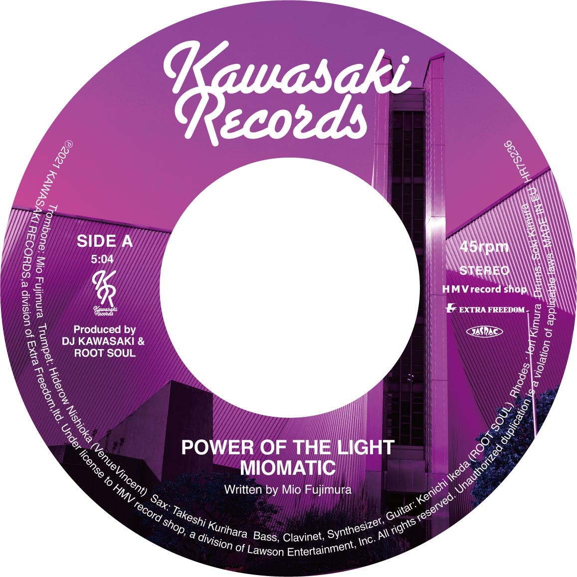 MIOMATIC – POWER OF THE LIGHT / STEP INTO OUR LIFE